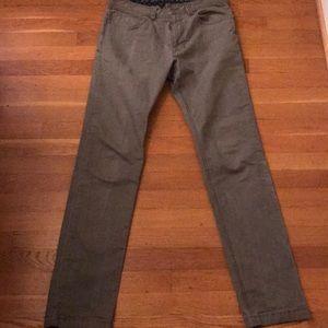 Men's prana slim fit pants